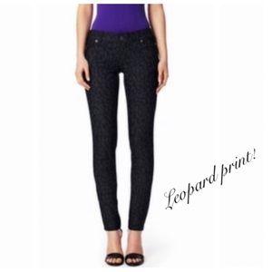 Limited Leopard Print denim Jeans pants